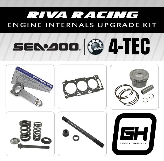 RIVA Engine Internals Upgrade Kit Sea Doo all 4Tec